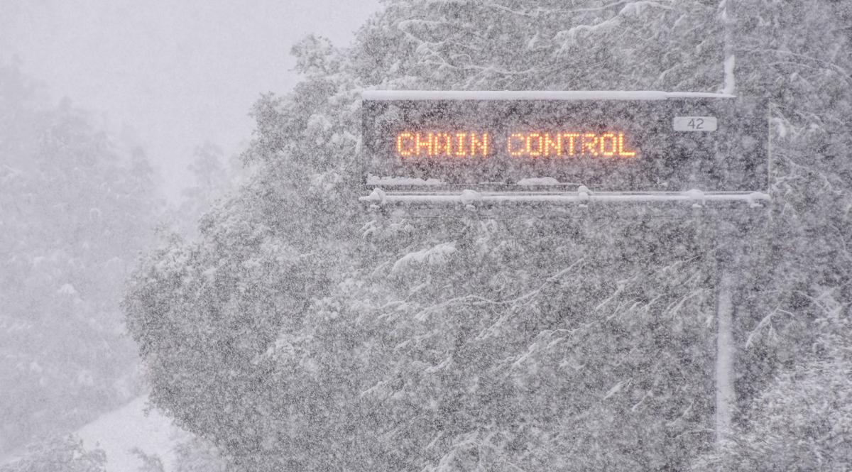 Holiday snowfall