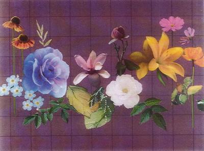 Sonora Florist mural