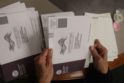 Measure V ballot
