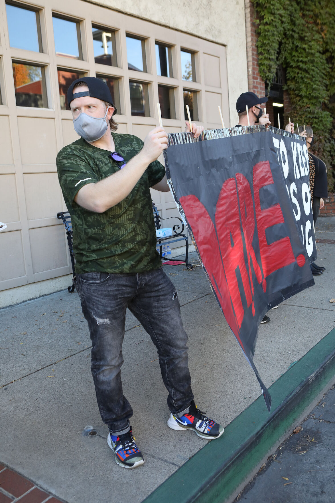 Marijuana protestors