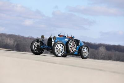 Vintage Bugatti restored in Portsmouth expected to sell for more than $2M