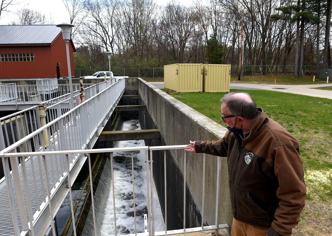 Clean water going back into Merrimack River