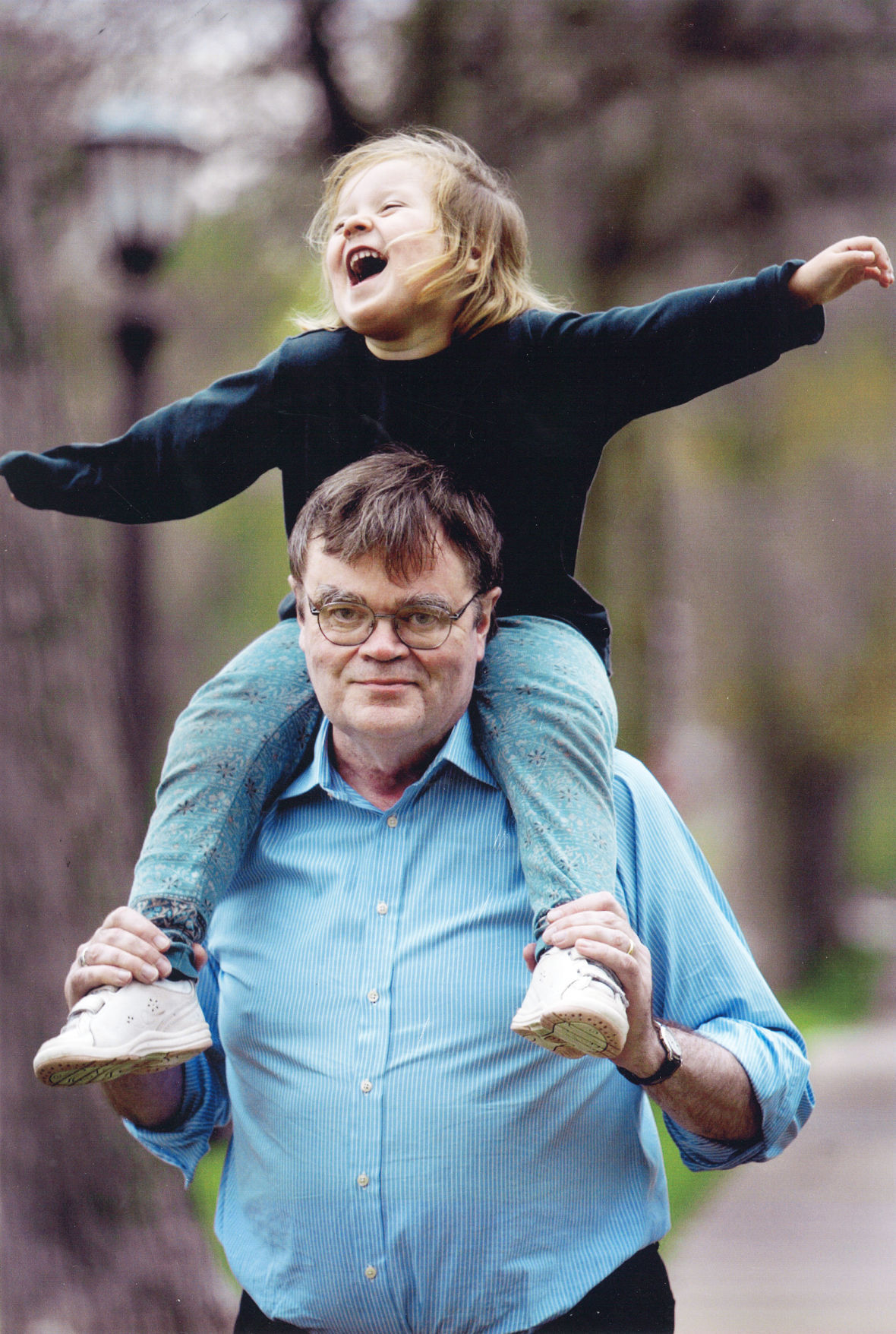 Garrison and Maia Keillor