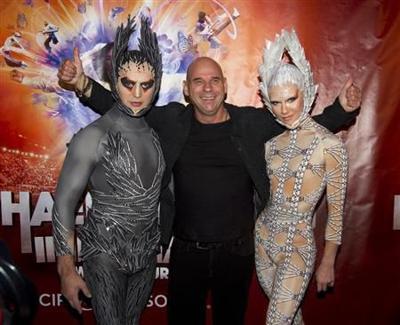 Guy Laliberte, CEO of Cirque du Soleil