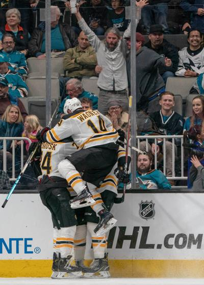 NHL: Boston Bruins at San Jose Sharks