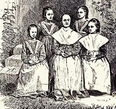 Shaker girls