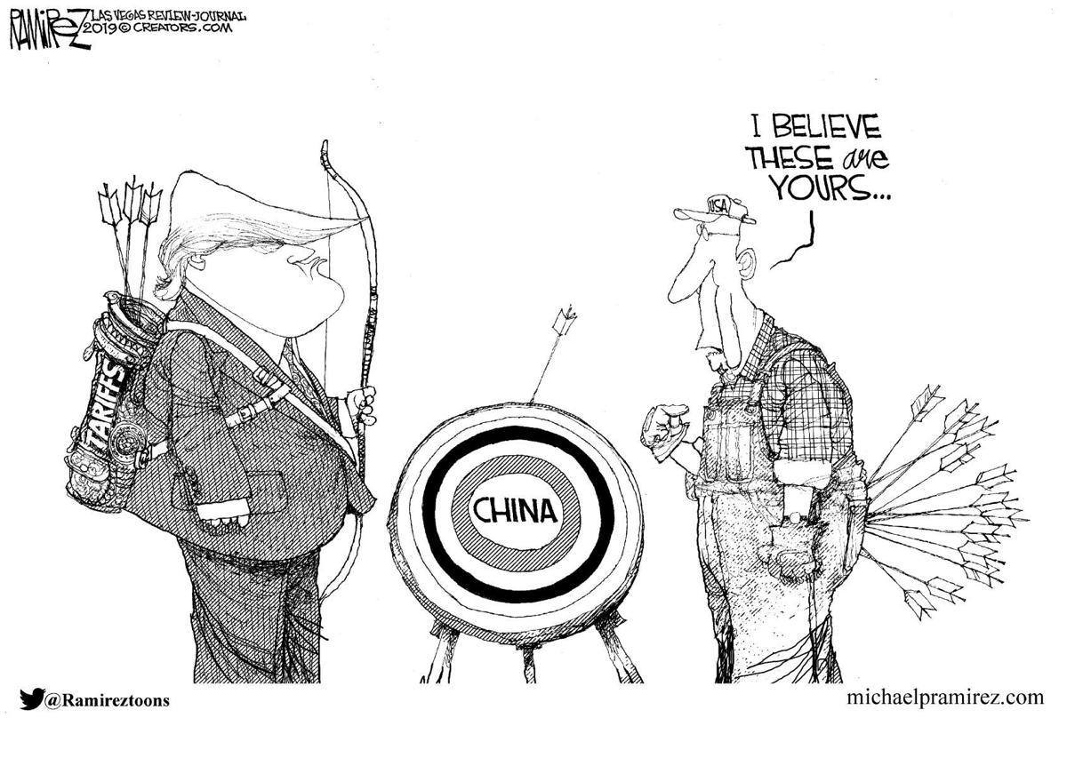 Editorial Cartoon, May 17, 2019