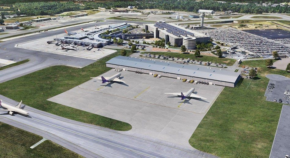 Airport plans to develop new cargo facility