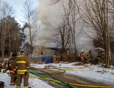 3-alarm fire in Deerfield