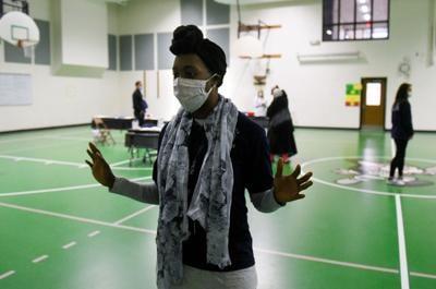 Victoria Adewumi, a community health worker
