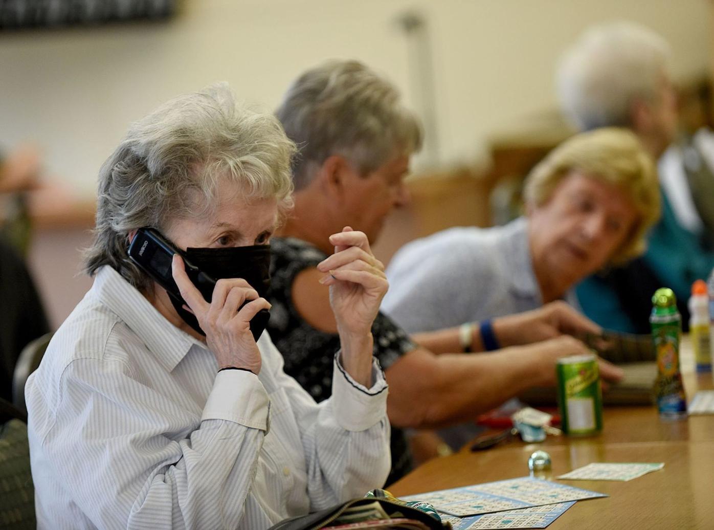 Flip-phone call