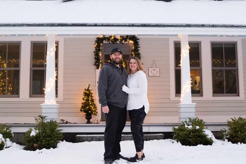 Couple buy Amherst home