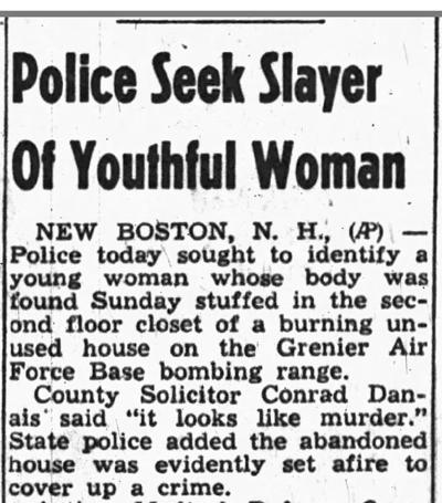 Looking Back: New Boston Bombing Range death