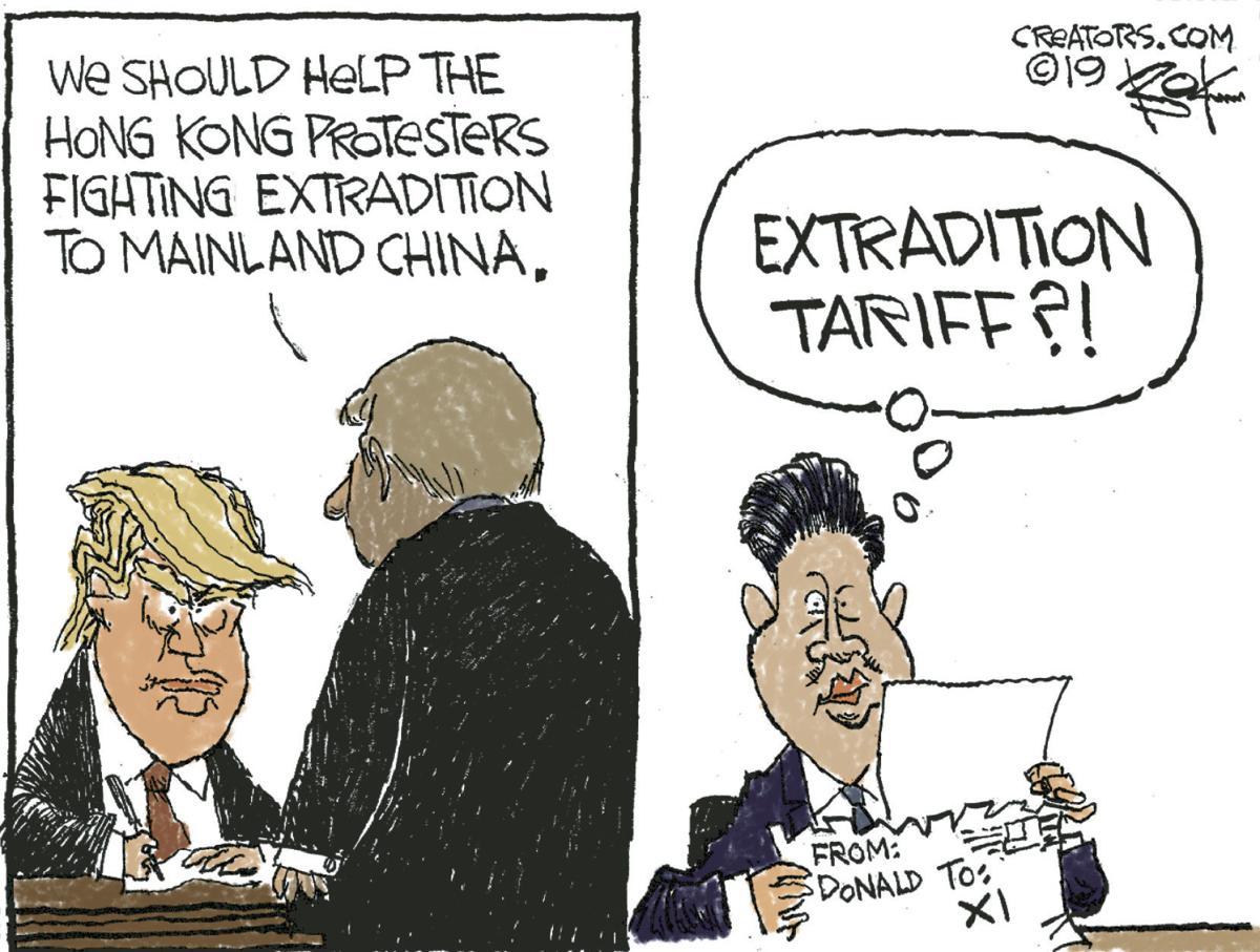 Editorial Cartoon, June 27, 2019