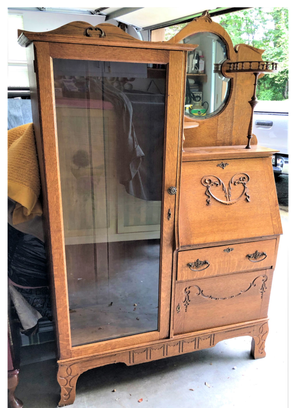 Treasures in the Attic: Appraising a grandmother's side-by-side hutch/desk