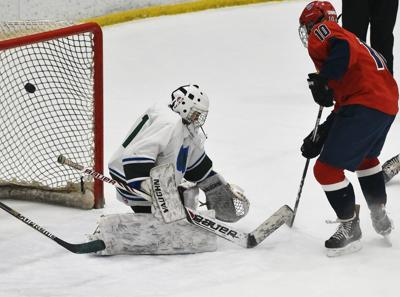 Memorial vs. Central/West boys' hockey
