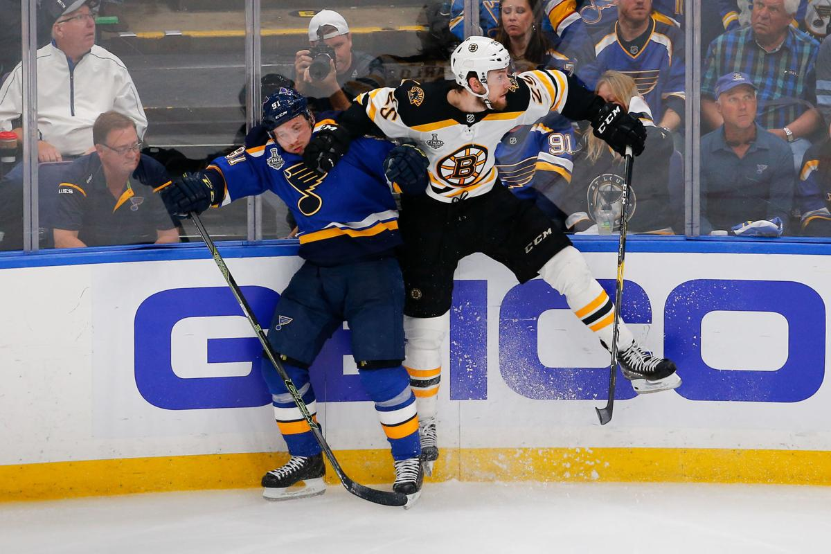 Bruins Ride Power Play To Game 3 Win Over Blues