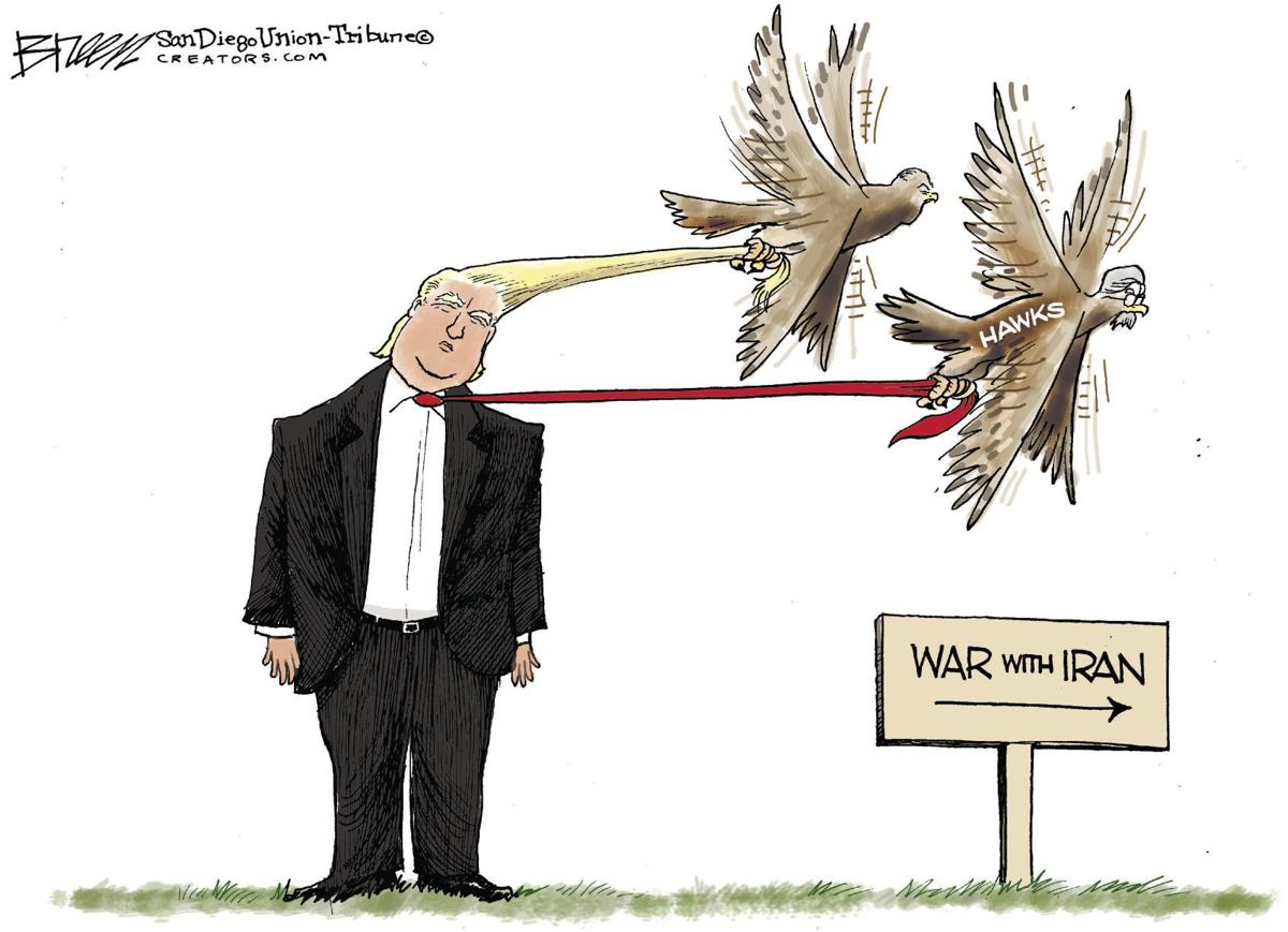Editorial Cartoon, May 21, 2019