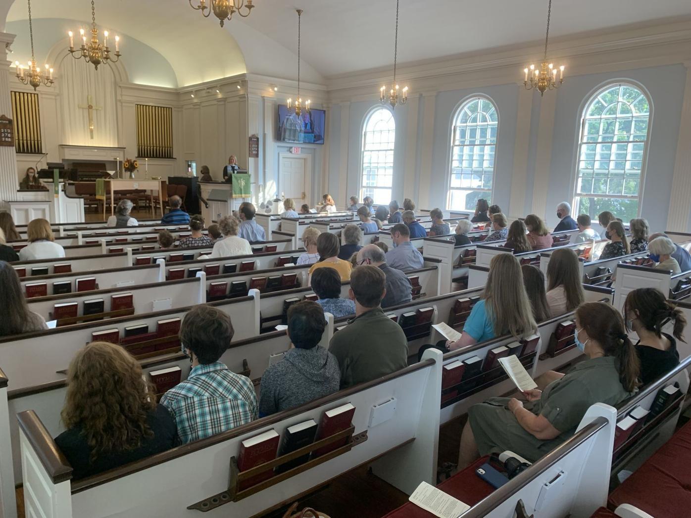Congregational Church of Hollis sanctuary