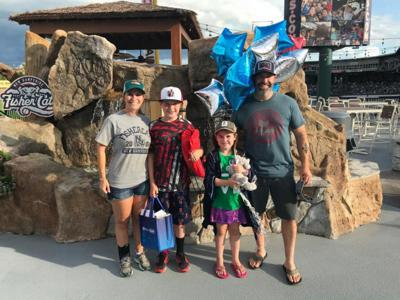 Fisher Cats recognize their 5 millionth fan(s)