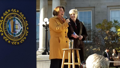 Klobuchar says heartland success is her drawing card