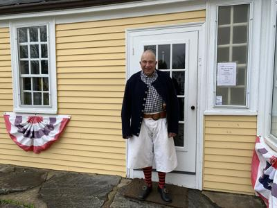 American Independence Museum volunteer Bill Bringhurst
