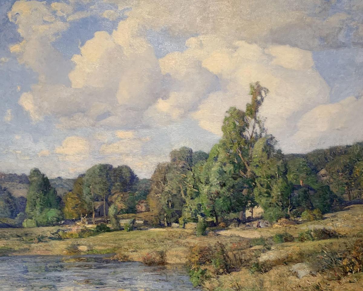 Wiliam Jurian Kaula painting on view