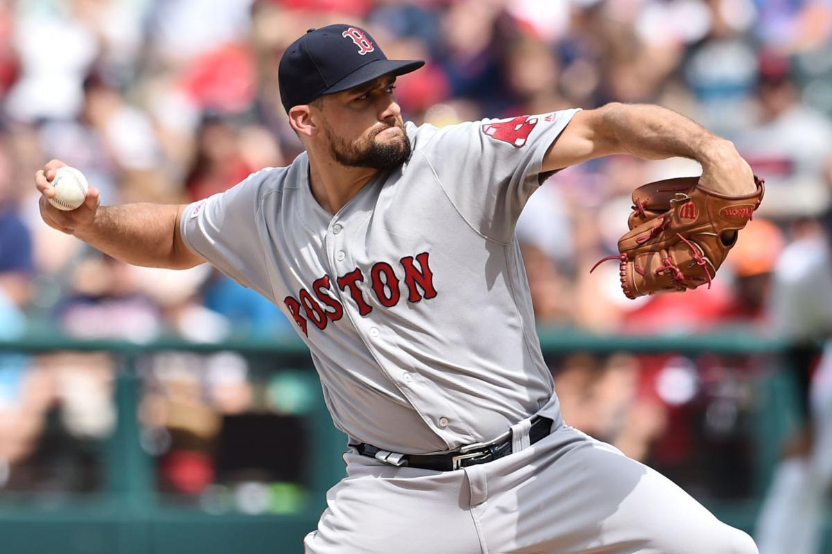 MLB: Boston Red Sox at Cleveland Indians