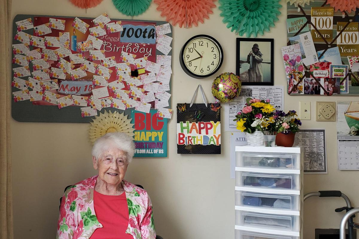 Goffstown woman celebrates 100 years