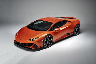 The Lamborghini Huracan EVO