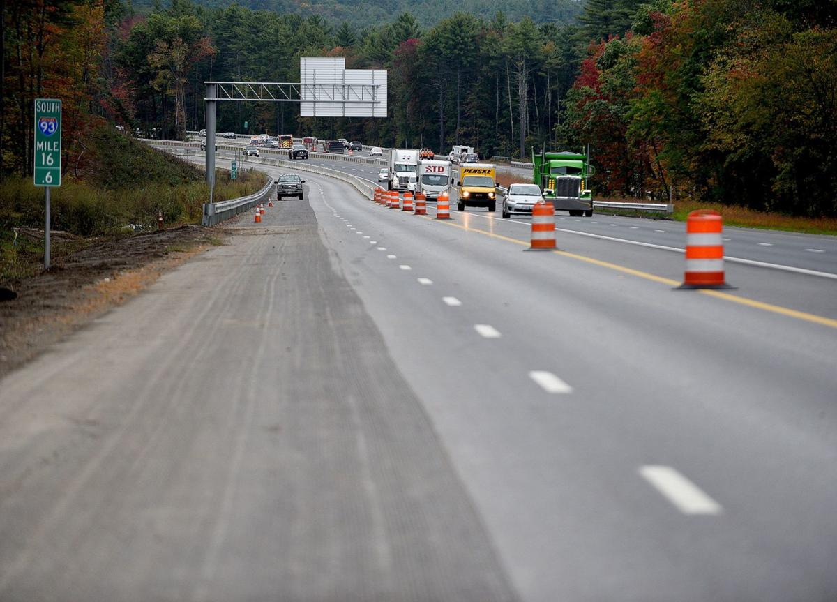 A fourth lane will be paved north of Exit 5