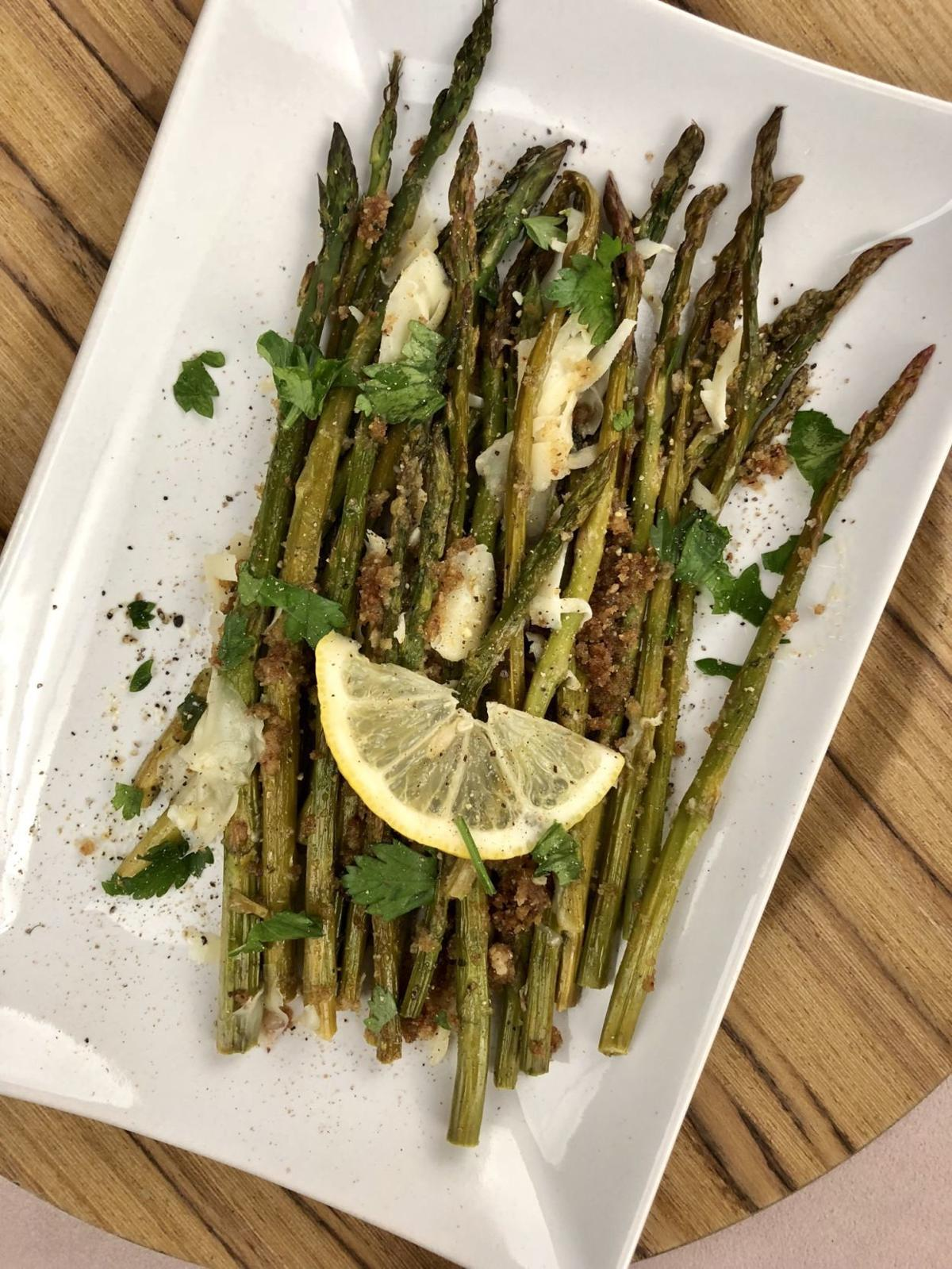 Oven Roasted Asparagus with Parmesan and Lemon 2
