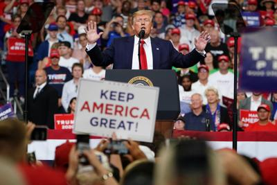 Trump speaks at kickoff rally