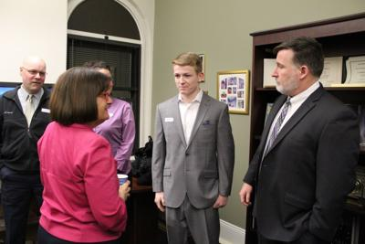 Kuster with nominees for U.S. military academies