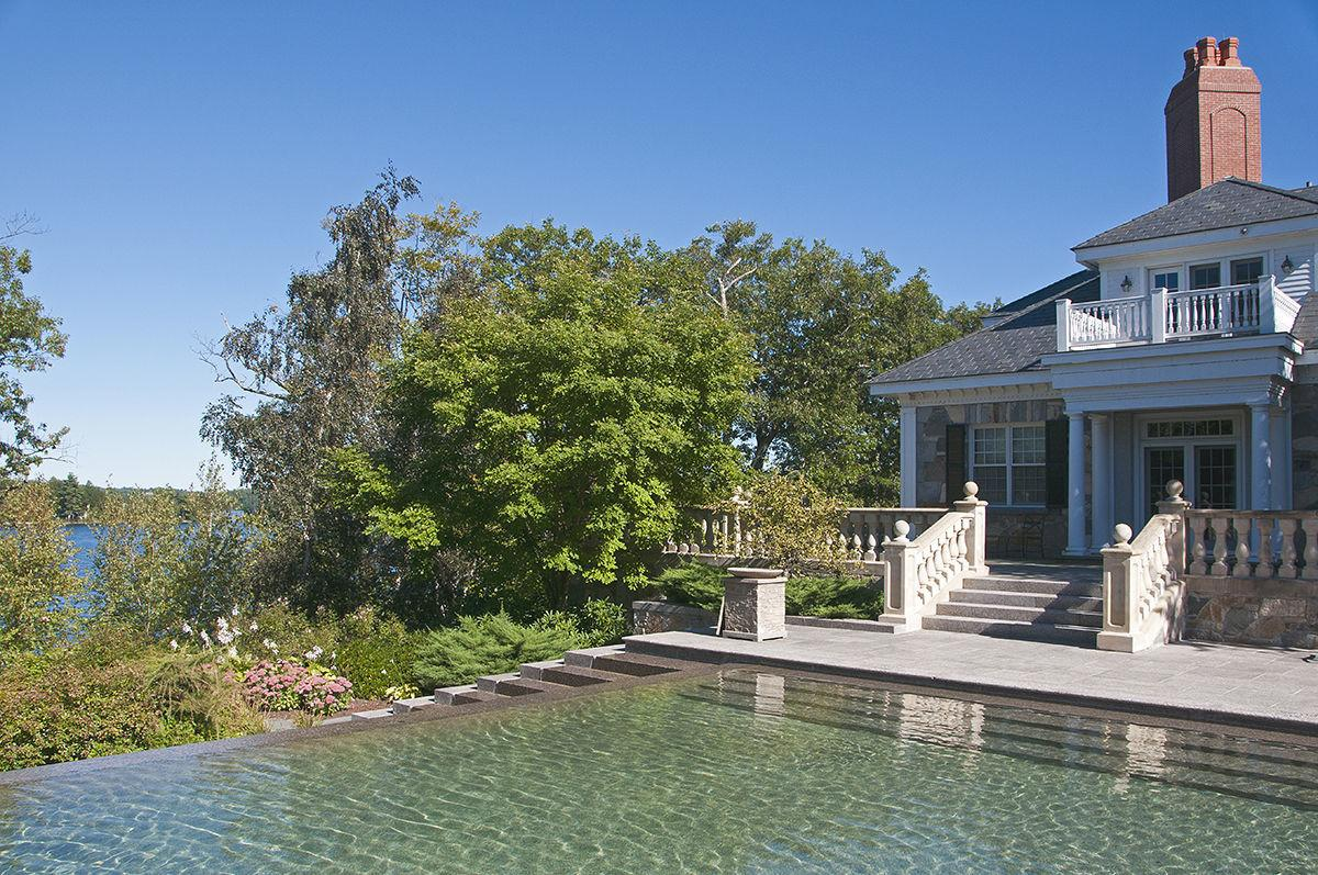 Lakefront home sells