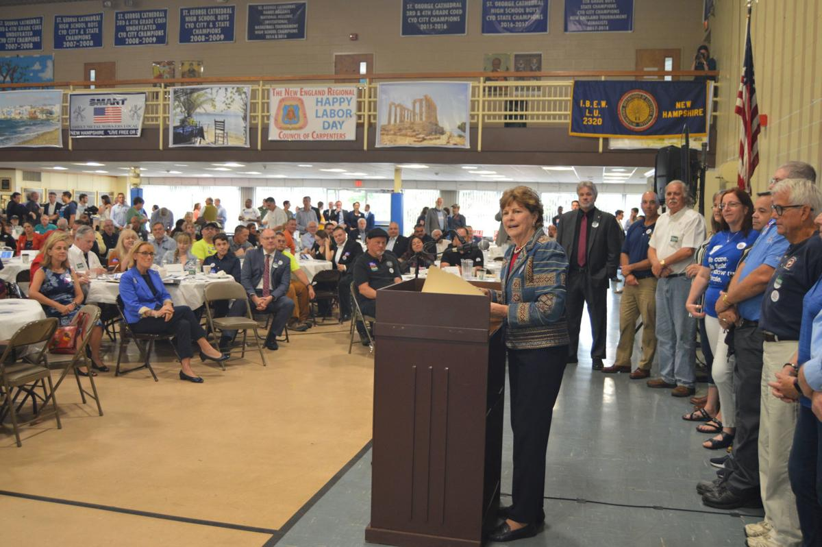 Dems urge unity at Labor Day breakfast