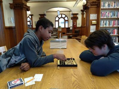 Mayhew participants square off in chess