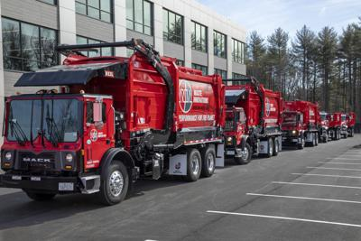 Waste Innovations Trucks Prior to Reveal