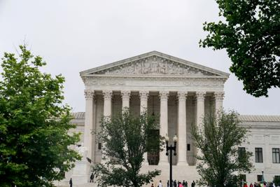 The U.S. Supreme Court is seen in Washington