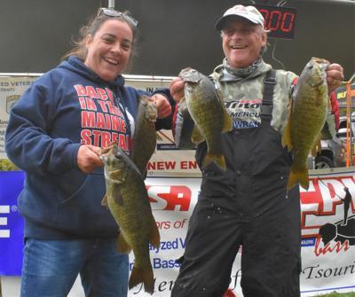 Veterans fishing tournament on Lake Winnipesaukee