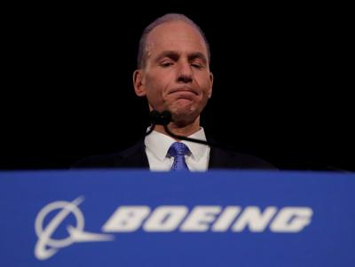Boeing Co Chief Executive Dennis Muilenburg