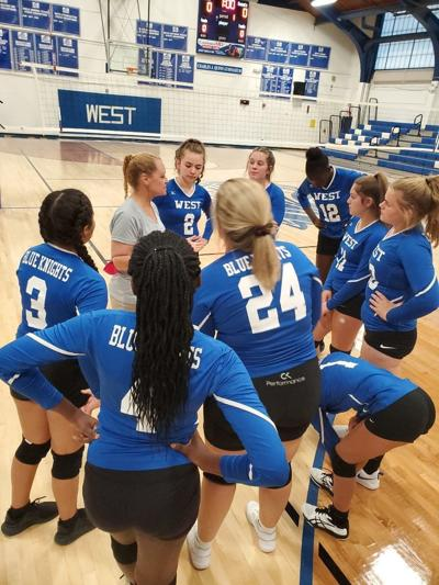 West volleyball