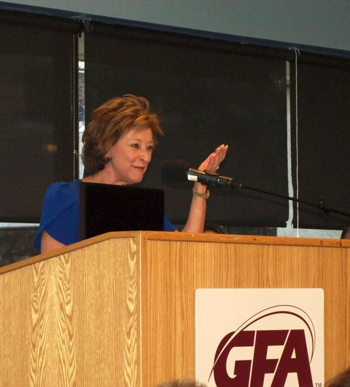 GFA Federal Credit Union CEO Tina Sprega