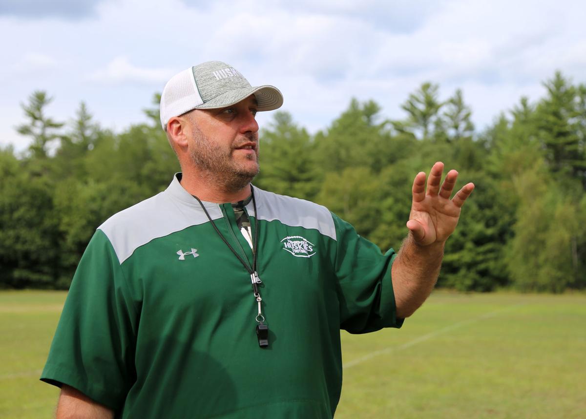 Monadnock coach Ryan Avery