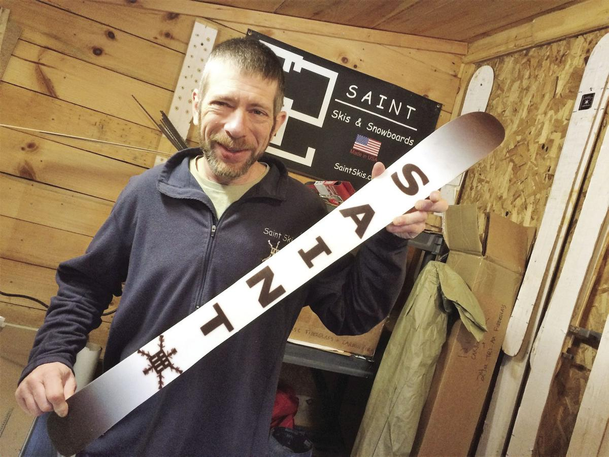 The house of skis: Gorham man's home is also his custom ski factory