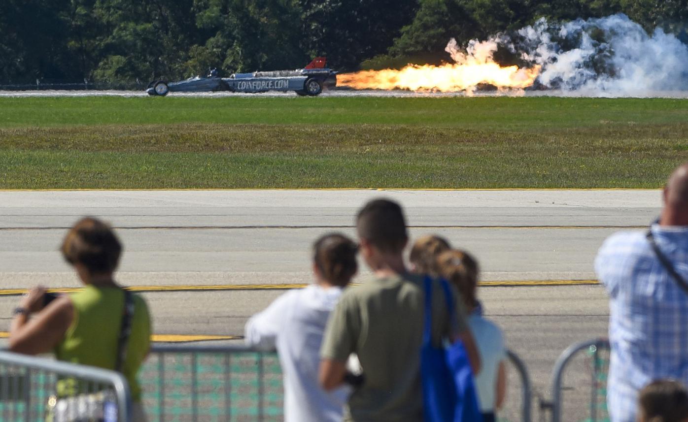 The Smoke-N-Thunder Jet Car