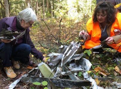 60 years later, family finds wreckage during first visit to B-52 bomber crash site