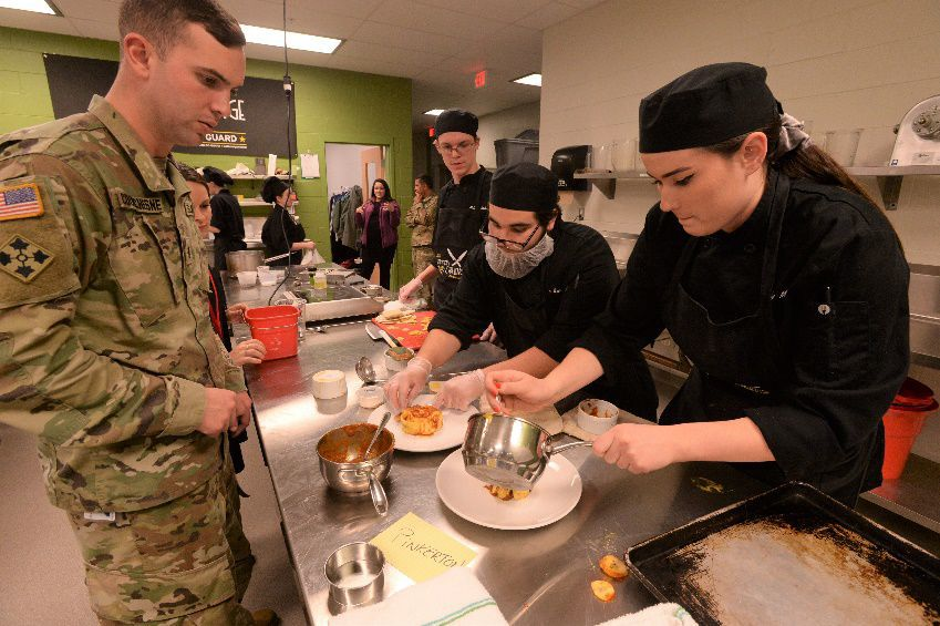 MRE cooking competition