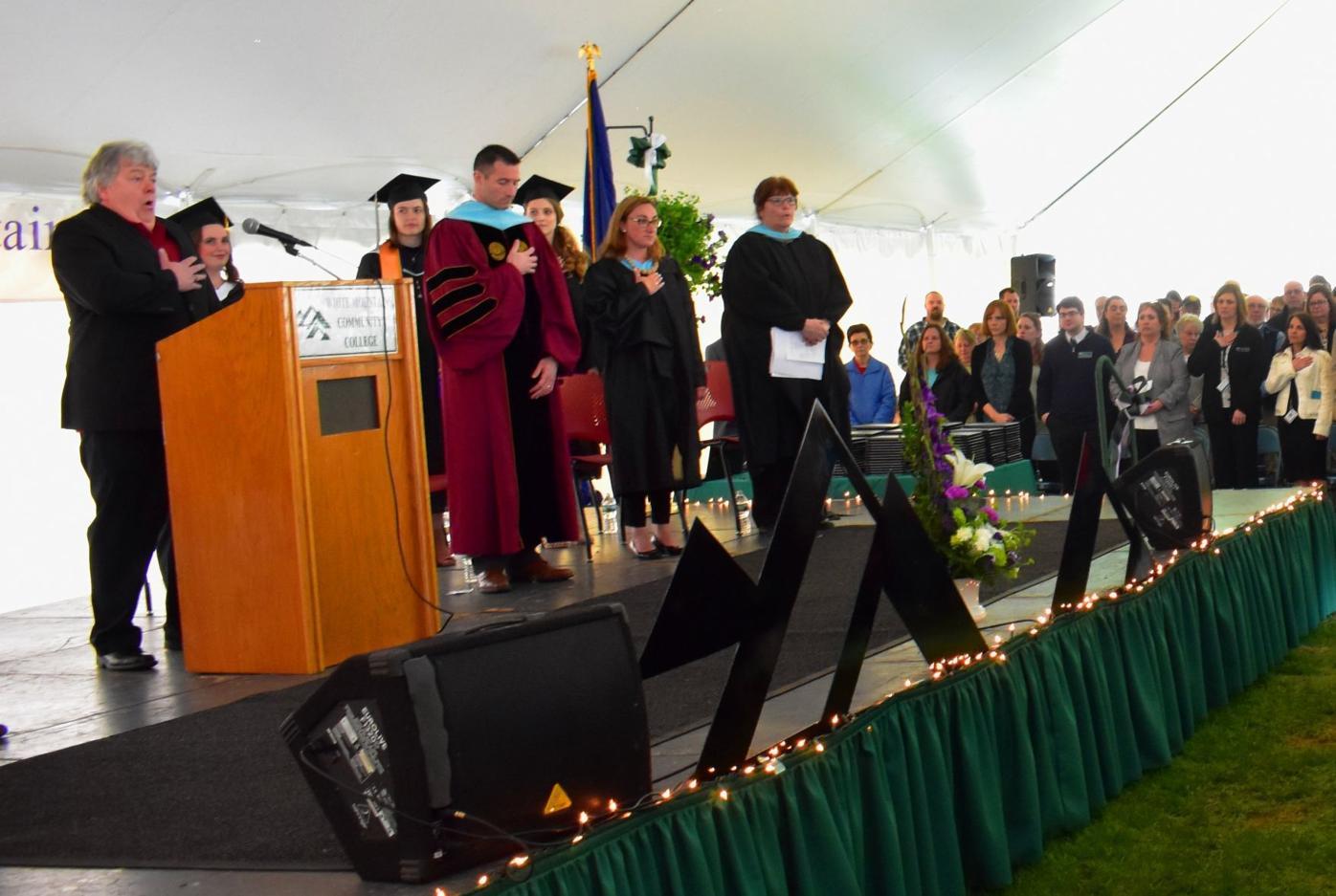 White Mountains Community College 2019 graduation