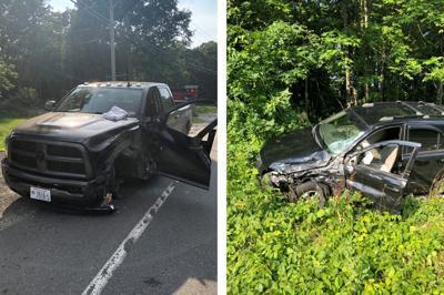 Three injured in head-on crash caught on dashboard camera in Pelham